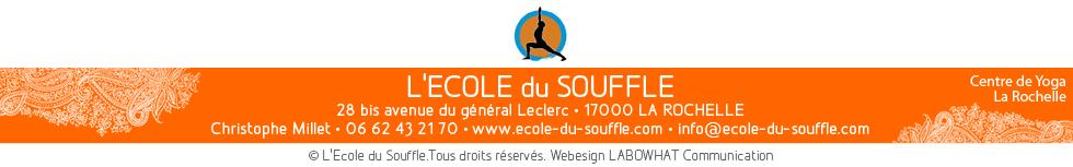 Centre de Yoga La Rochelle L'Ecole du Souffle